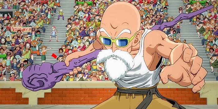 Dragon Ball FighterZ: Muten Roshi Screenshots enthüllt
