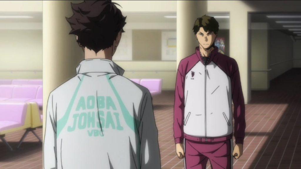 Oikawa und Ushijima